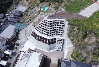 災害関連緊急急傾斜地崩壊対策工事(南新町地区)
